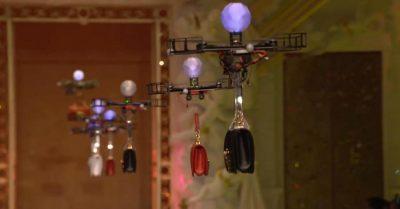pokaz drony