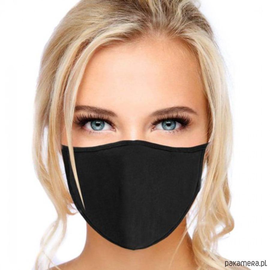 maseczka ochronna dla blondynki