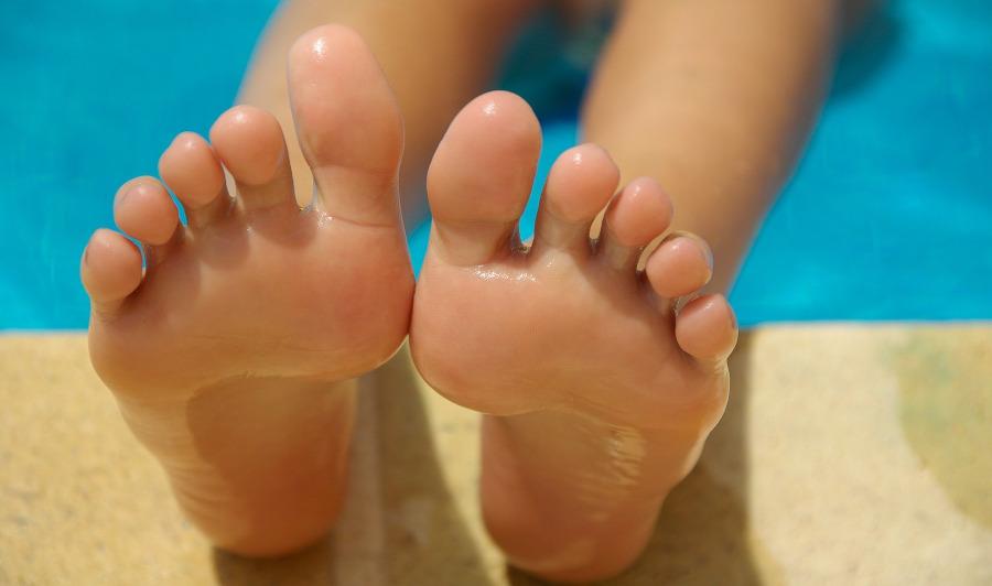 wazelina na gladkie stopy