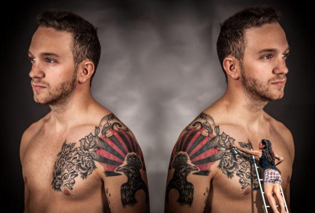 tatuaż z różą