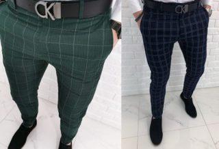Spodnie w kratÄ™